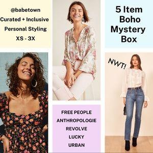 BOHO Mystery Box Free People Mystery Box Sweater